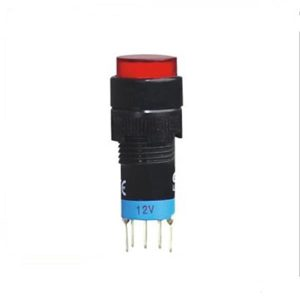 کلید شستی A12-11SY ON-OFF PUSH BUTTON SWITCH