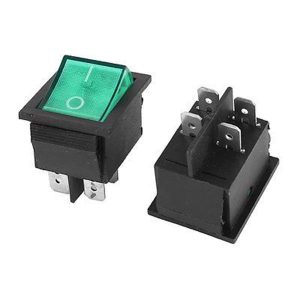 کلید راکر KCD2-201N ON-OFF ROCKER SWITCH