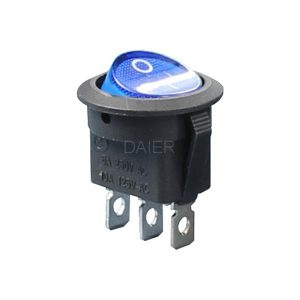 کلید راکر KCD1-8 -101N ON-OFF ROCKER SWITCH