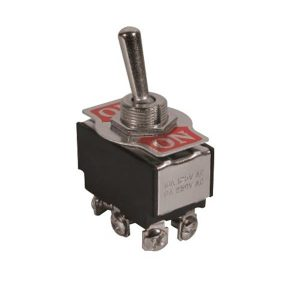 کلید کلنگی KN3B-203P ON-OFF-ON TOGGLE SWITCH