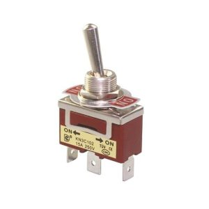 کلید کلنگی KN3C 103 ON-OFF-ON TOGGLE SWITCH