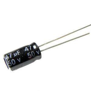 47UF 50V YTF خازن الکترولیت ۱۰۸۰۰۷۰۴۷