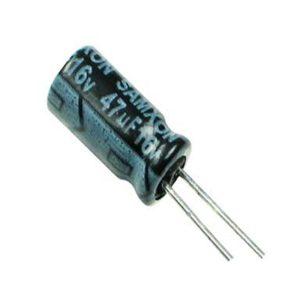 47UF 16V YTF خازن الکترولیت ۱۰۸۰۰۷۰۴۶