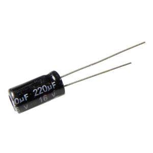 220UF 16V YTF خازن الکترولیت ۱۰۸۰۰۷۰۵۰