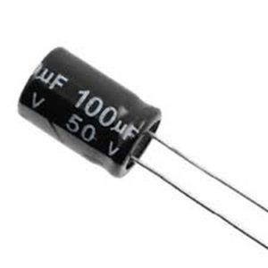 100UF 50V YTF خازن الکترولیت ۱۰۸۰۰۷۰۴۹