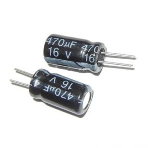 470UF 16V YTF خازن الکترولیت ۱۰۸۰۰۷۰۵۳