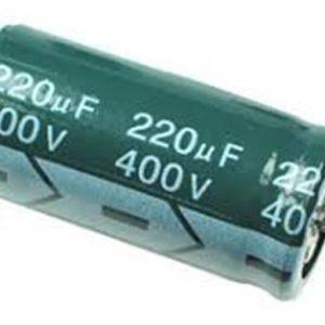 220UF 400V YTF خازن الکترولیت ۱۰۸۰۰۷۰۶۴