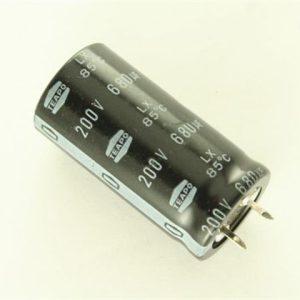 680UF 200V YTF خازن الکترولیت ۱۰۸۰۰۷۰۶۶