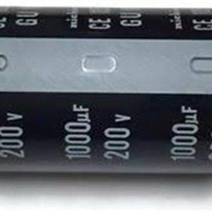 1000UF 200V YTF خازن الکترولیت ۱۰۸۰۰۷۰۶۵