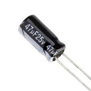 47UF 25V YTF خازن الکترولیت ۱۰۸۰۰۷۰۷۴